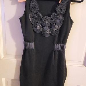 A.Maglia dress. Sz S Black